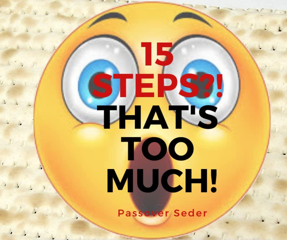 What Are The 15 steps Of The Passover Seder?