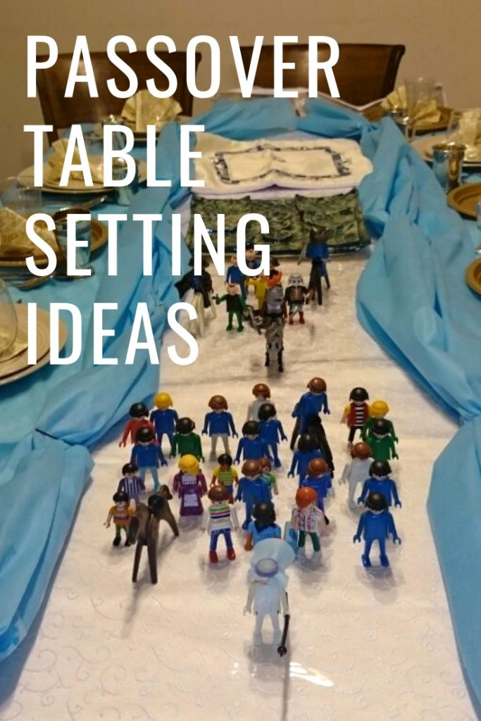 Passover Table Setting Ideas