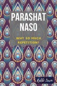 Parashat Naso dvar Torah