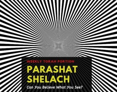 Parashat Shelach Is Seeing Believing?