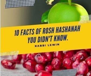 Rosh Hashanah facts