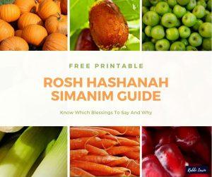 Rosh Hashanah Simanim