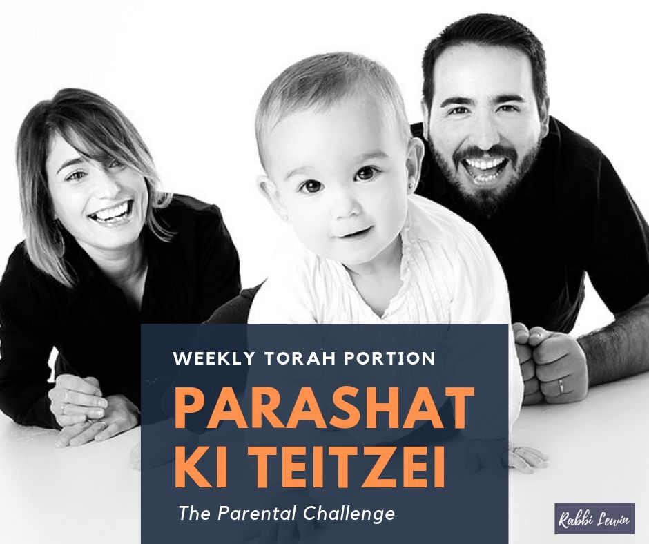 Parashat Ki Teitzei- Playing Up The Parent