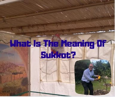 What Does Sukkot Mean?