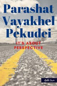 Parashat Vayakhel-Pekudei