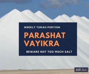 Parshat Vayikra