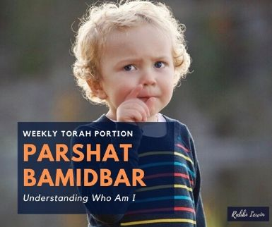 Parshat Bamidbar Understanding Who  Am I